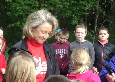 Forest Ridge Elementary and Optimum Learning Environments Charter School participated in the Arbor Day Celebration
